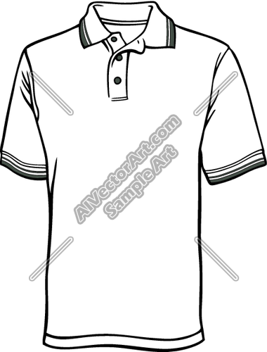 380x500 Men's Polo Shirt Clipart And Vectorart Apparelproduct Blanks