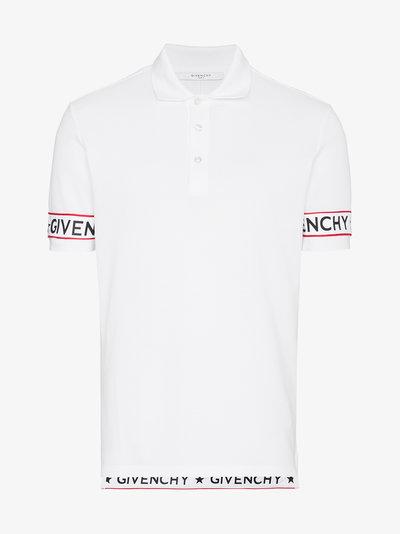 400x534 Givenchy Logo Webbing Polo Shirt T Shirts Browns