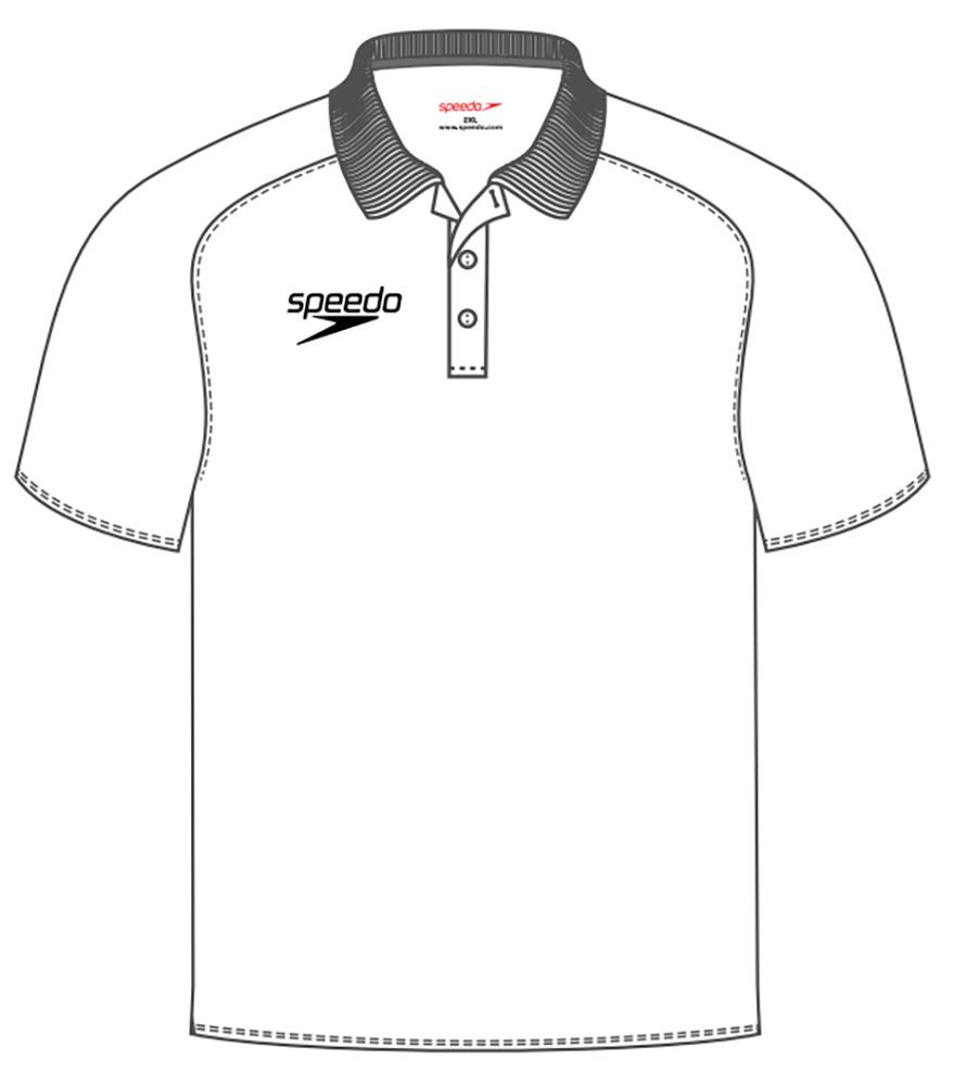 879x1000 Speedo Dry Polo Shirt (8 104270003) In White