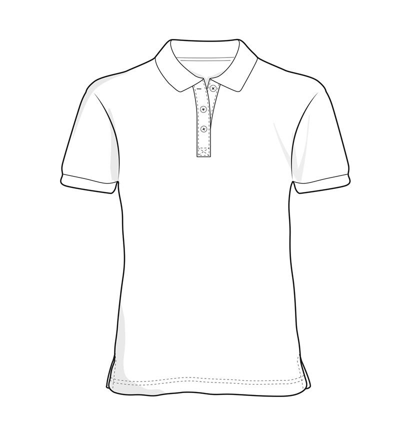 800x866 Stretch Poloshirt Ladies'