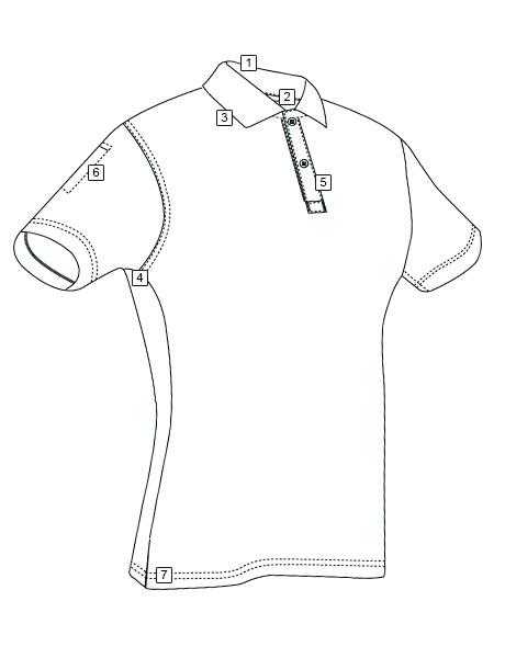 460x600 Women's Short Sleeve Performance Polo Tru Spec Tactically