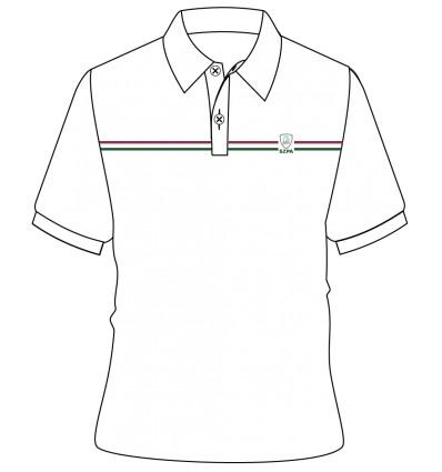 398x425 White Polo [ P.e. ] T Shirt