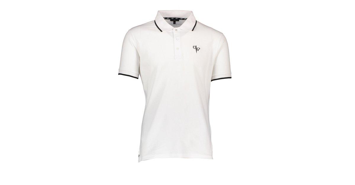 1200x627 Cesare Paciotti Cesare Paciotti Men's White Cotton Polo Shirt