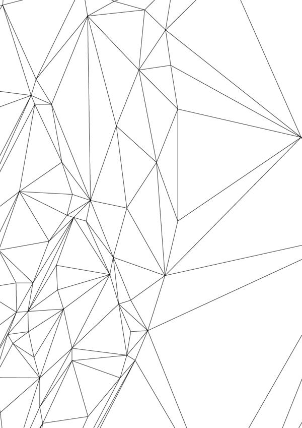 how to draw polygon animals