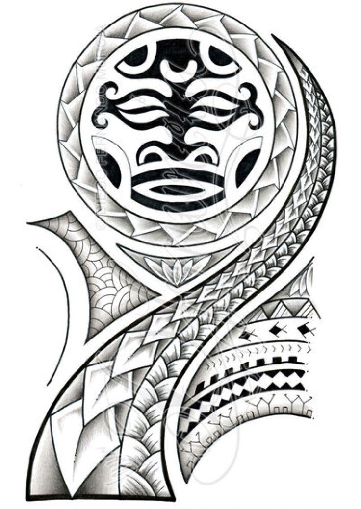 Polynesian Drawing