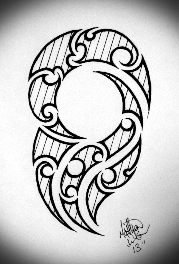 601x889 Latest Maori Tattoo Designs