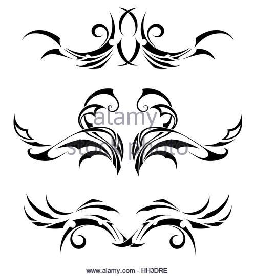 498x540 Polynesian Tattoo Stock Photos Amp Polynesian Tattoo Stock Images