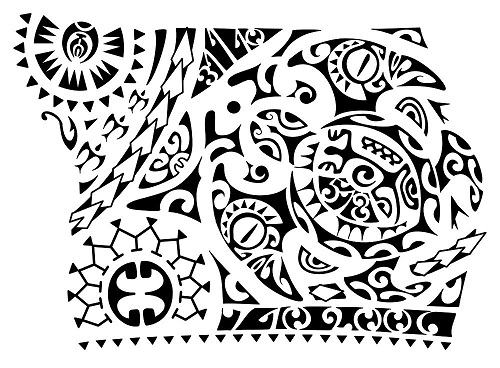500x368 52 Best Polynesian Tattoo Designs With Meanings