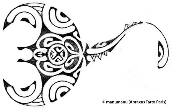 Polynesian Tribal Drawing At Getdrawings Free Download