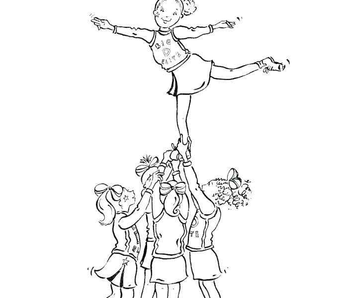 678x600 Cheerleader Coloring Pages Cheerleaders Coloring Pages Coloring