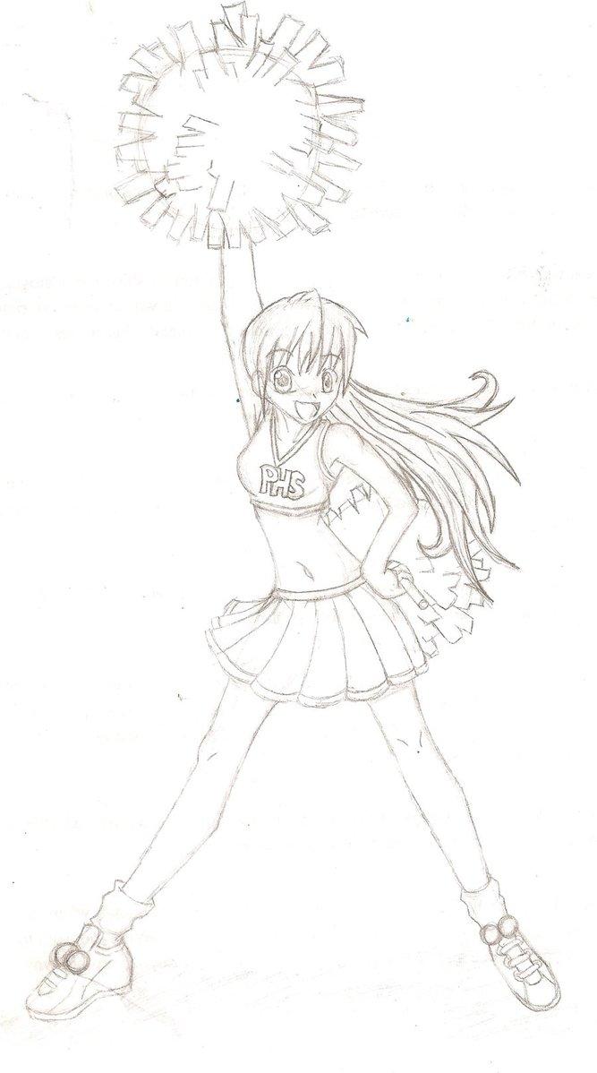 667x1198 Cheerleader By Aayaka