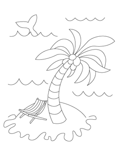 238x320 Summer Coloring Pages