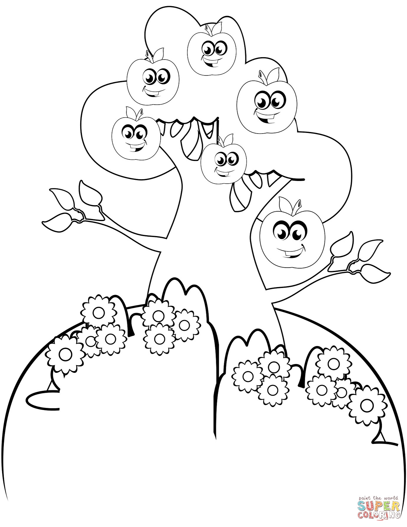 1382x1788 Tree Coloring Pages Roots Best Of 8 Best Of Tree