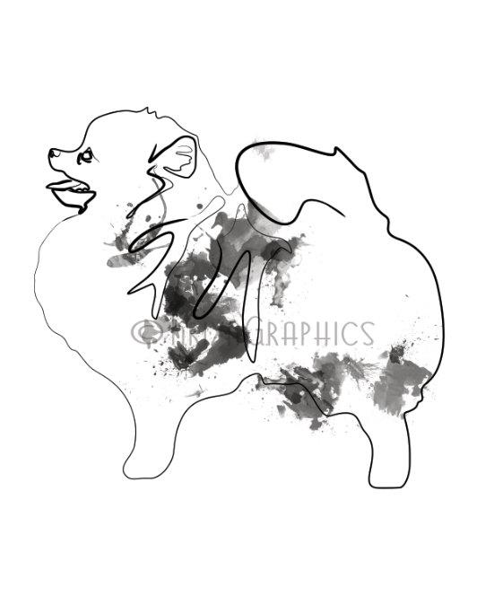 532x664 Pomeranian Art Dog Art Dog Gift Dog Print Dog By Kriyagraphics