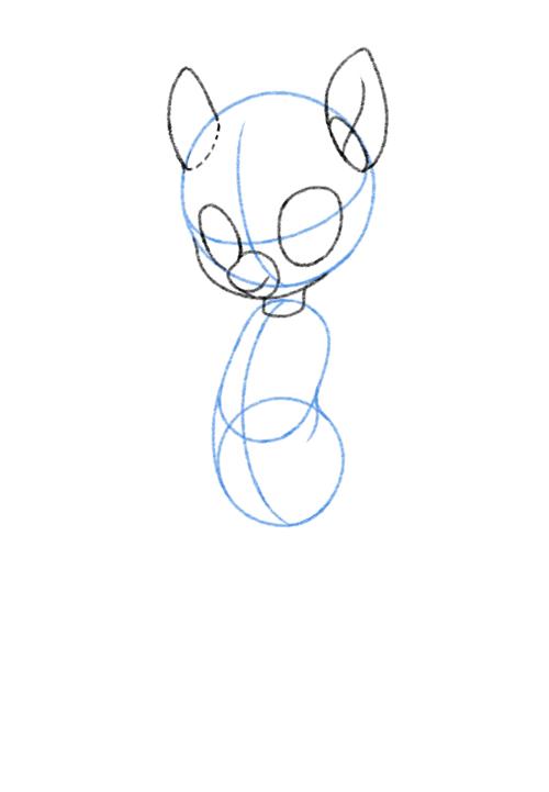 500x721 How To Draw An Anthro Pony