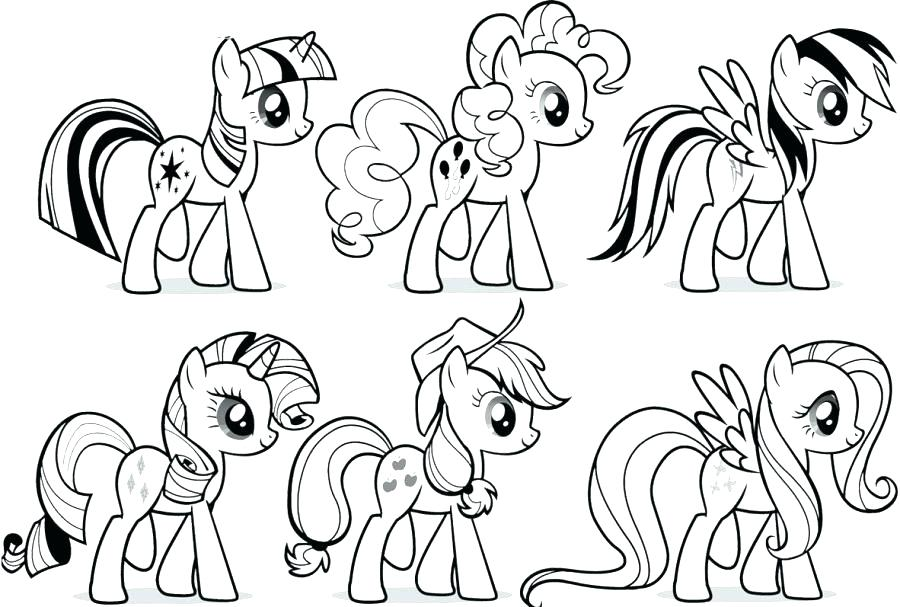 900x607 My Little Pony Coloring Book Pages And My Little Pony Coloring