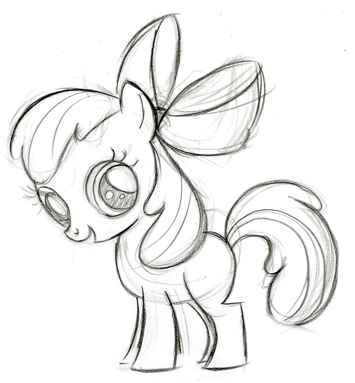 718x776 My Little Pony G4 Concept Art Drawingsketches.