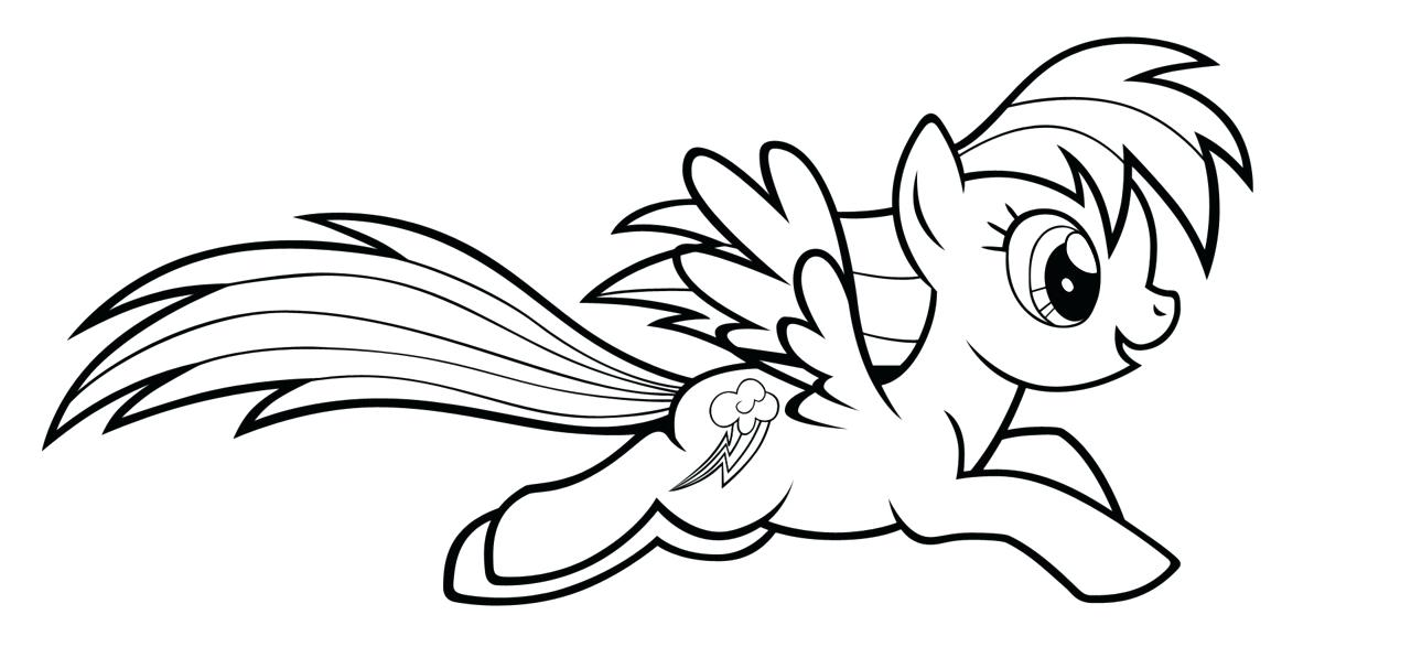 1280x587 Pony Color Pages My Little Pony Coloring Pages Rainbow Dash