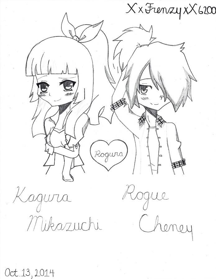 695x896 Rogura Ponytail Twinsies By Xxfrenzyxx6200
