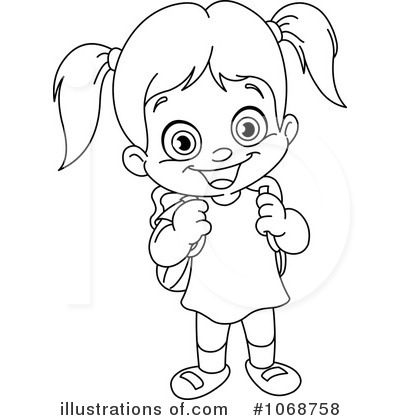 400x420 Clipart Of Science Girl Ponytail Collection