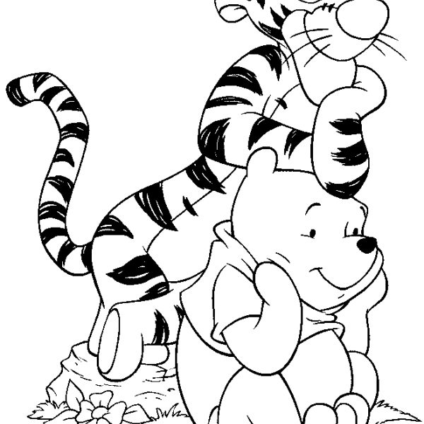 600x600 Disney Images To Color Coloring Page