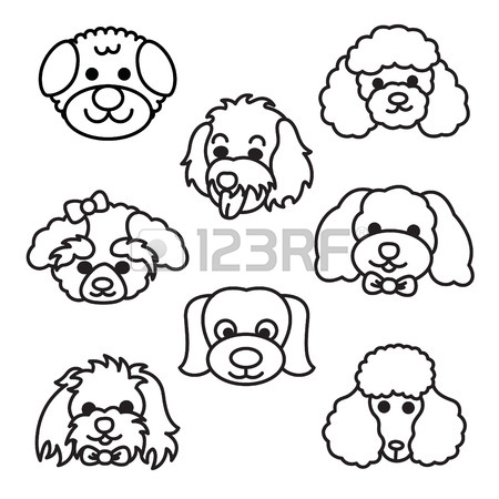 Poodle Cartoon Drawing