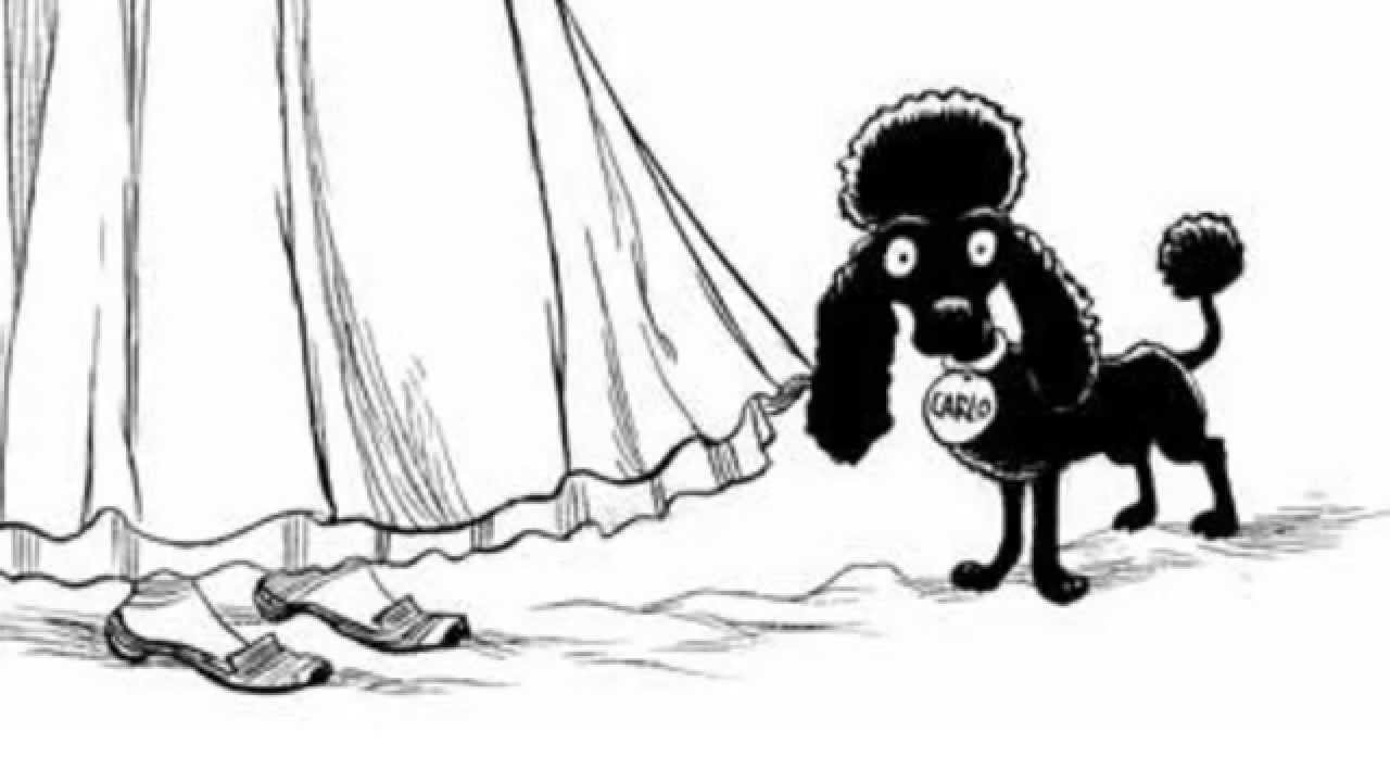 1280x720 How To Draw . A Yankee Doodle Poodle (From Chris Riddell's Goth