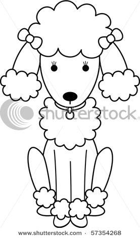 277x470 Drawn Poodle