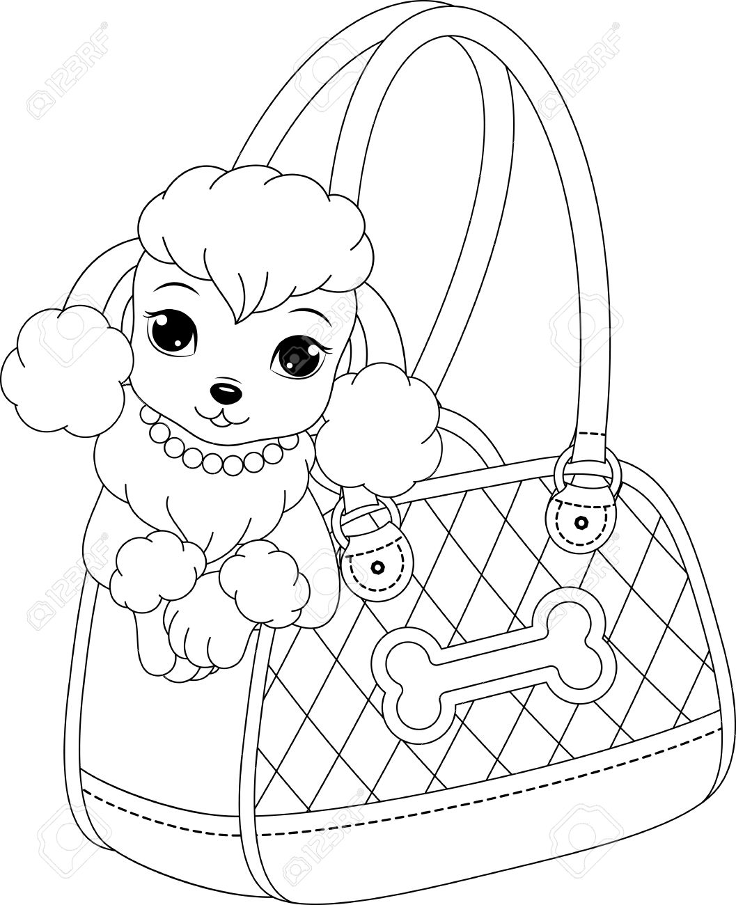 1057x1300 Free Printable Poodle Coloring Pages Free Printable Doodle