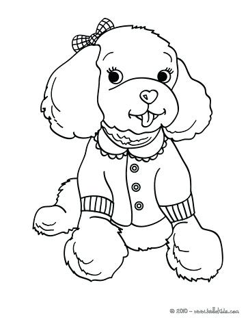 363x470 Poodle Coloring Page 50s Poodle Skirt Coloring Pages Genesisar.co