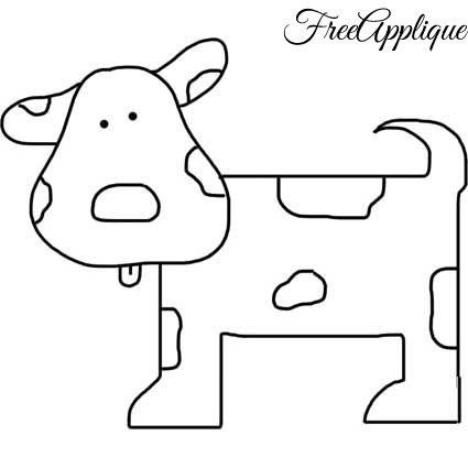 425x425 Free Dog Patterns