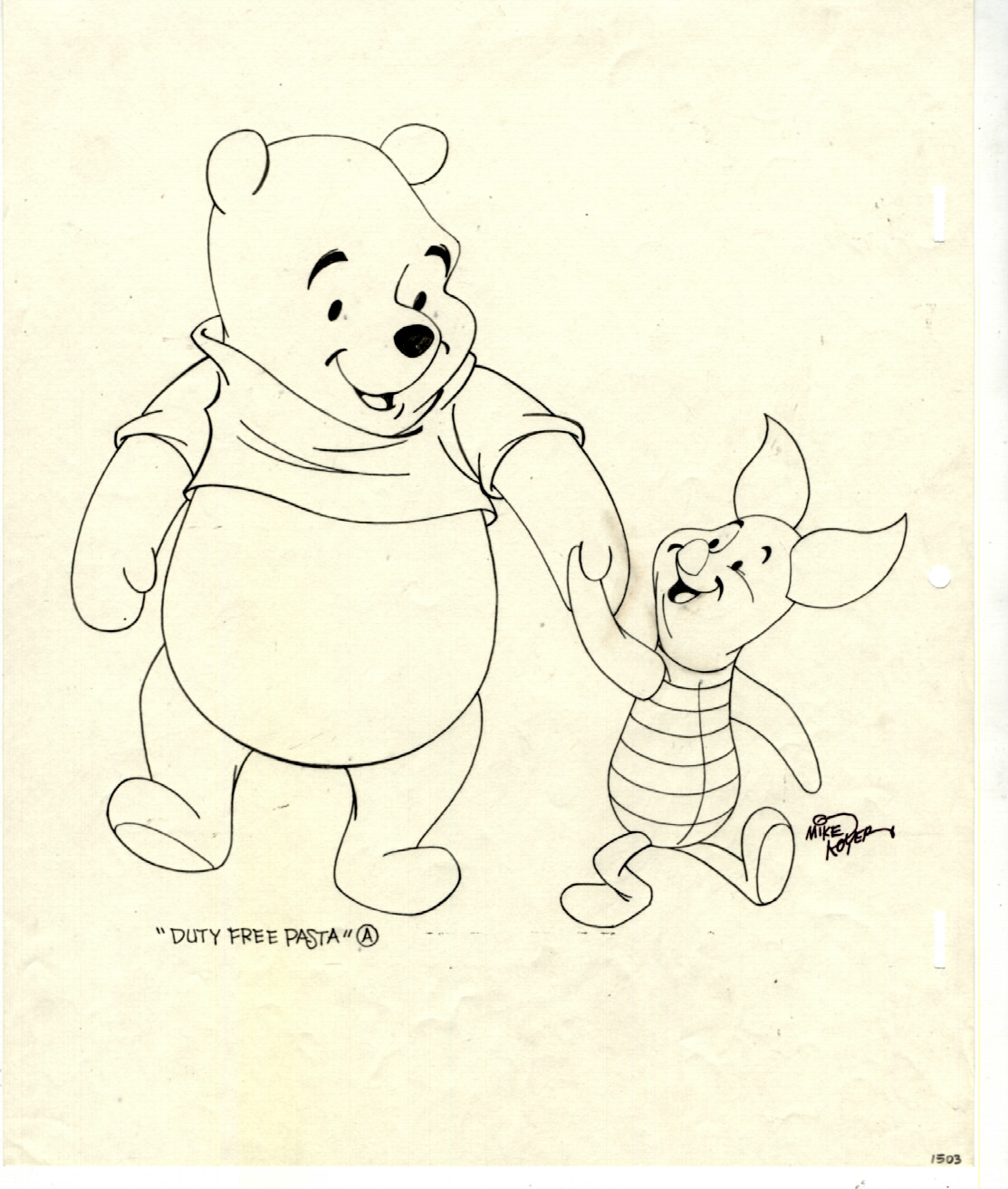 Pooh Bear Drawing at GetDrawings.com | Free for personal use Pooh ...