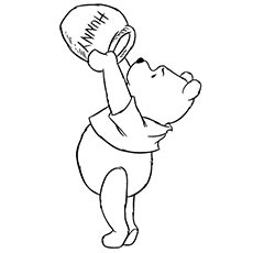 230x230 Top 10 Free Printable Pooh Bear Coloring Pages Online