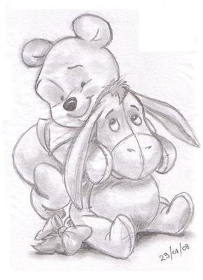 290x399 Winnie The Pooh And Eeyore Landn83 Foundmyself Templates