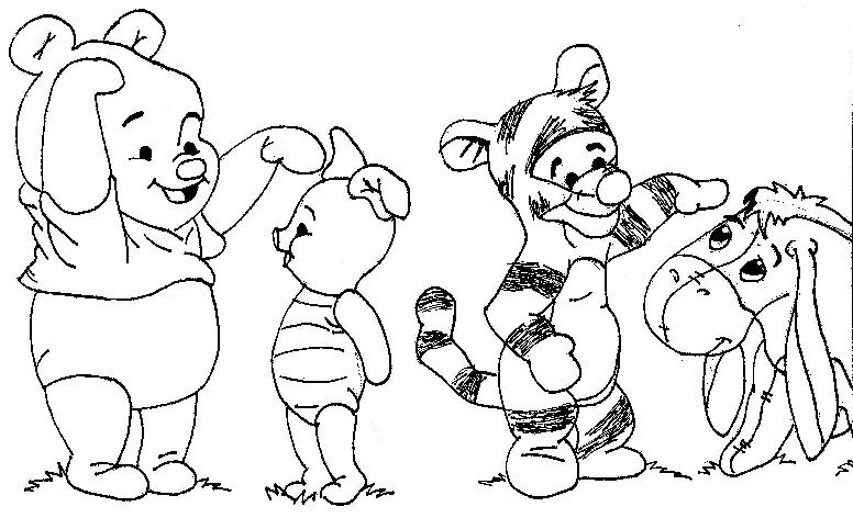 776x472 Pooh Bear And Freinds By Idreamnightmares