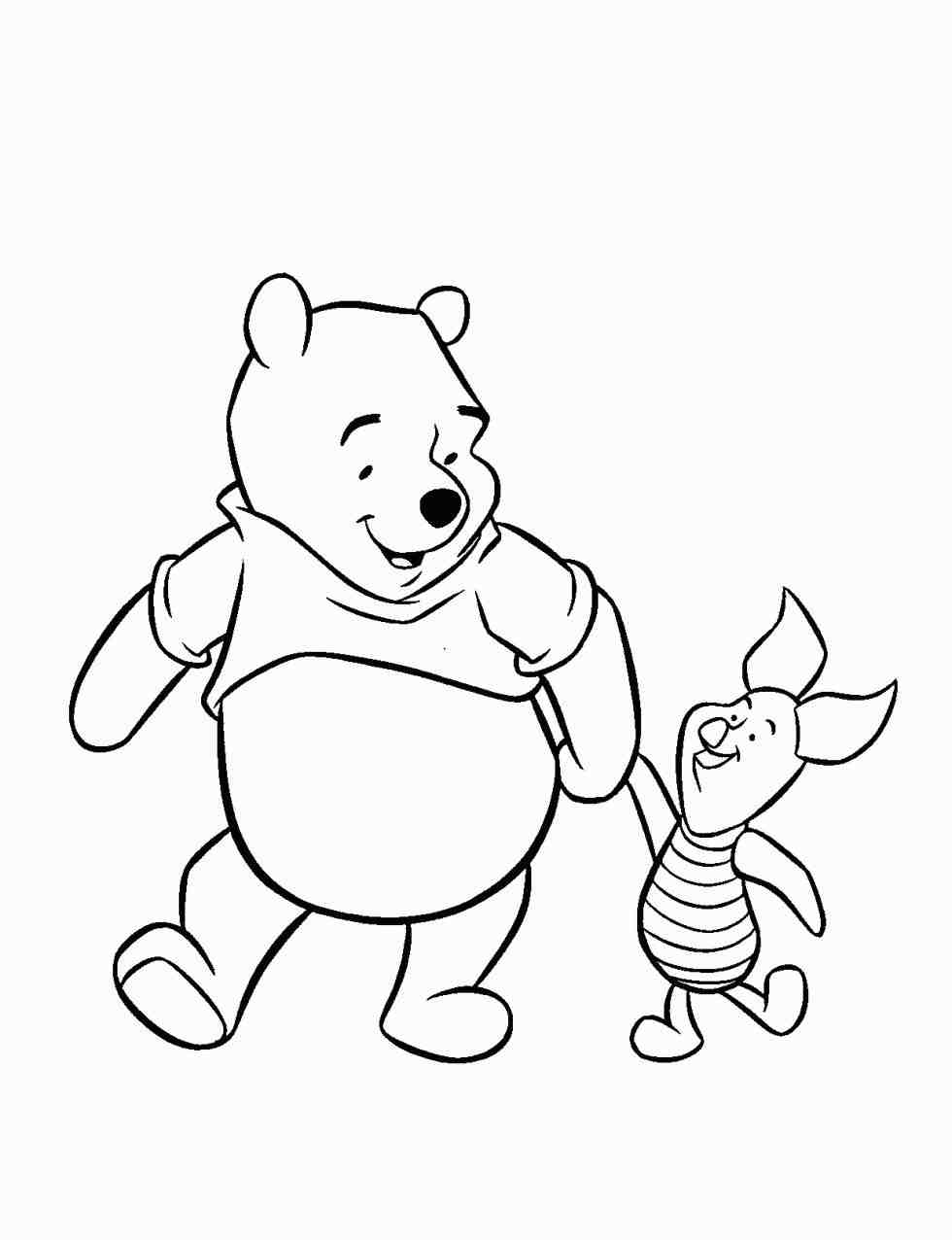 980x1276 The Images Collection Of Pooh Drawings Of Tigger Coloring Pages