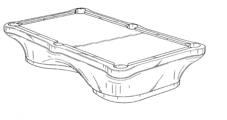 728x386 Pool Table Drawings Biantable