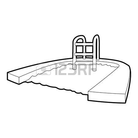 450x450 In Ground Swimming Pool Royalty Free Cliparts, Vectors, And Stock