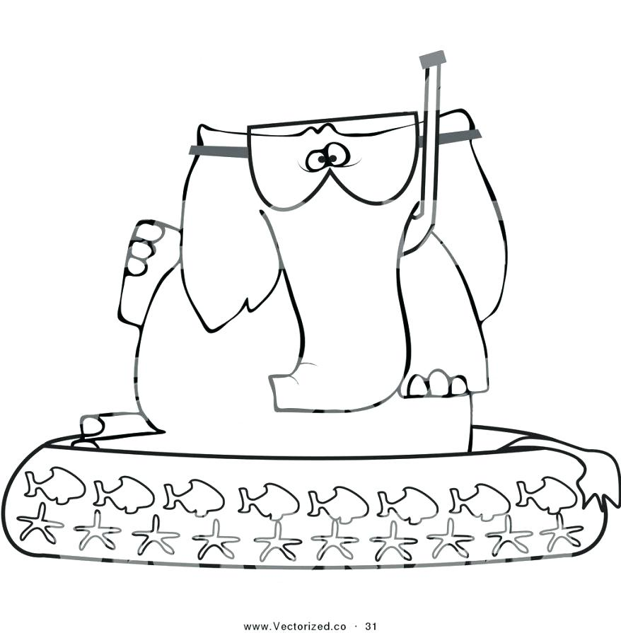 878x895 Swimming Pool Coloring Pages