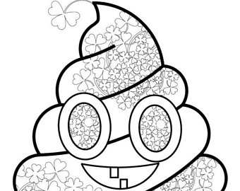 340x270 Emoji Coloring Pages Etsy