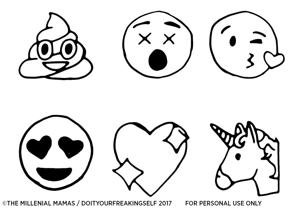 1000x695 Make Your Own Emoji Wine Charms
