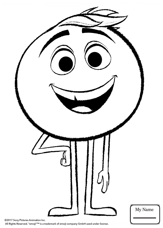 874x1224 The Emoji Movie Mycoloring7