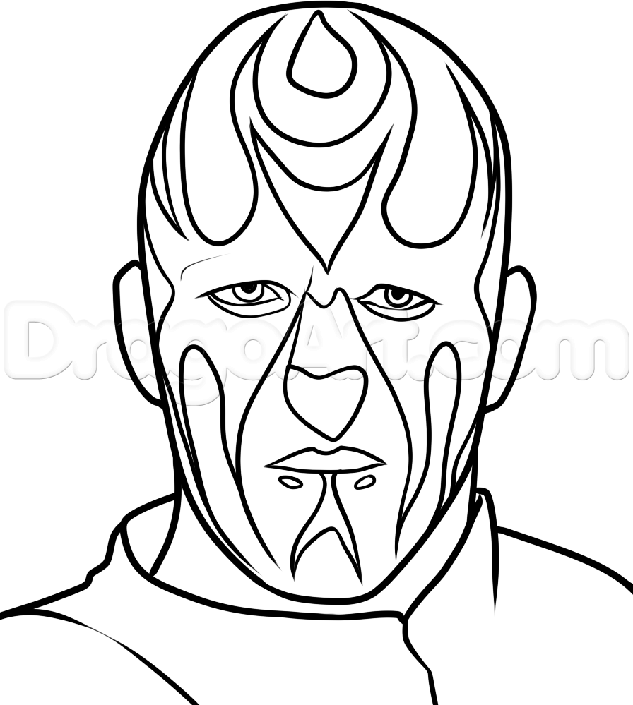 896x999 Wwe Dean Ambrose Coloring Pages How To Draw Goldust From Step By