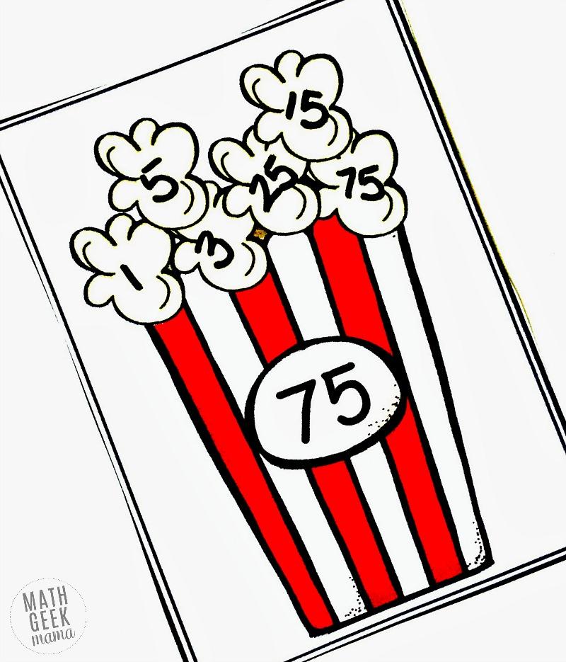 800x935 Free} Easy Popcorn Factoring Practice Activity