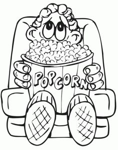 236x298 Happy Popcorn Day Coloring Page Kids Coloring Pages