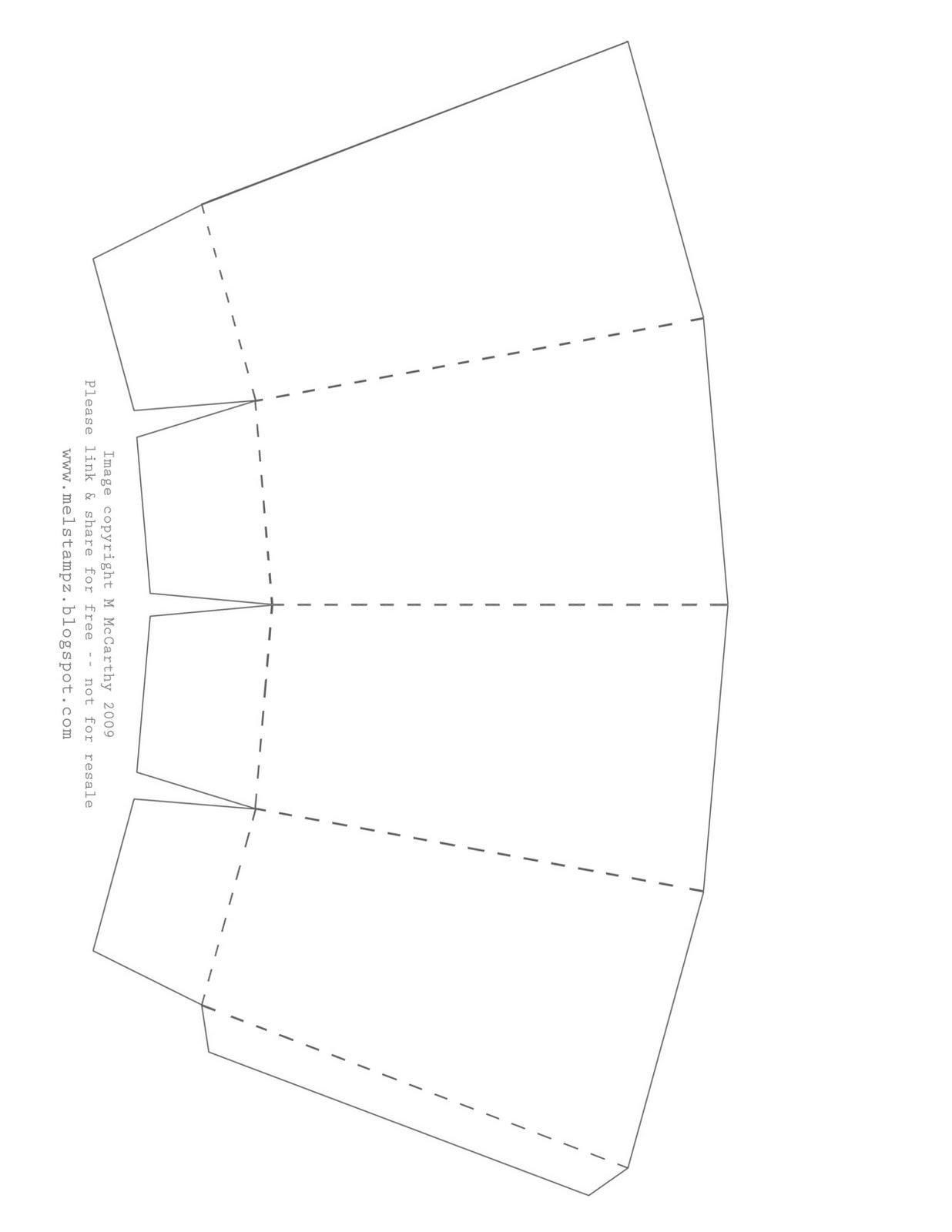1236x1600 Mel Stampz New Popcorn Box Template Set (Pretty Stamp Room