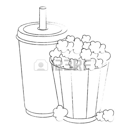 450x450 Red And White Striped Popcorn Bucket Stock Photos Amp Pictures