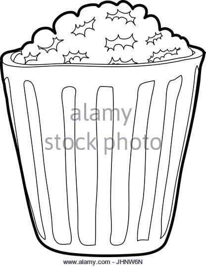 416x540 Black Popcorn Black And White Stock Photos Amp Images