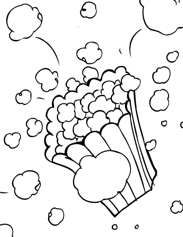 Popcorn Kernel Drawing at GetDrawings.com | Free for personal use ...