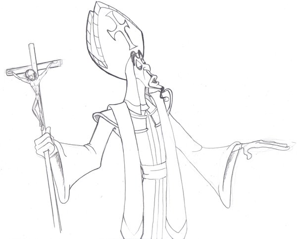 600x482 Pope Jafar By Kenny Boy